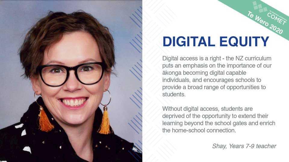 Digital Equity Shay