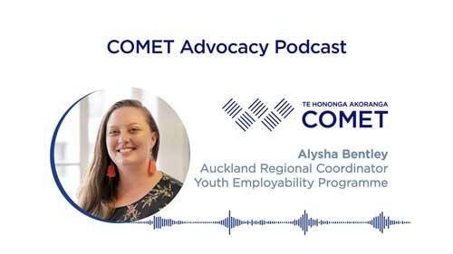 Comet Podcast Alysha Bentley Youth Employability Programme