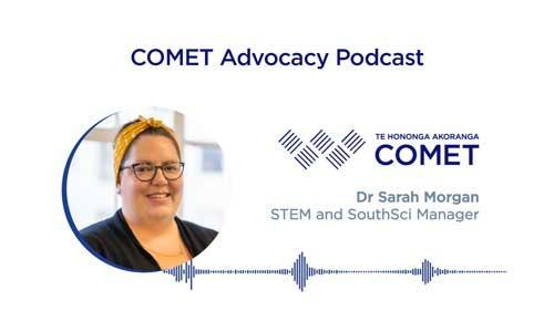 Comet Podcast Dr Sarah Morgan South Sci