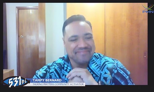 Tampy Bernard On Pacific Breakfast